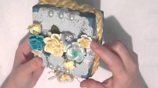 Wild Bunch - Decorated Origami Box & Soap Bar - Becca