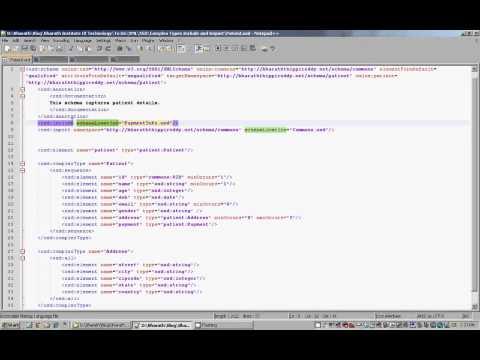 XML Schema Include And Import