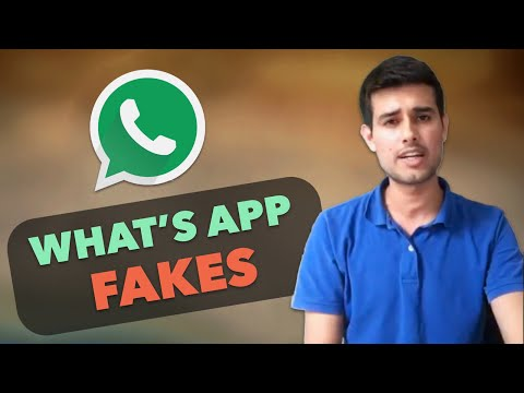 New What's App Forward nowadays | Dhruv Rathee Facebook Live