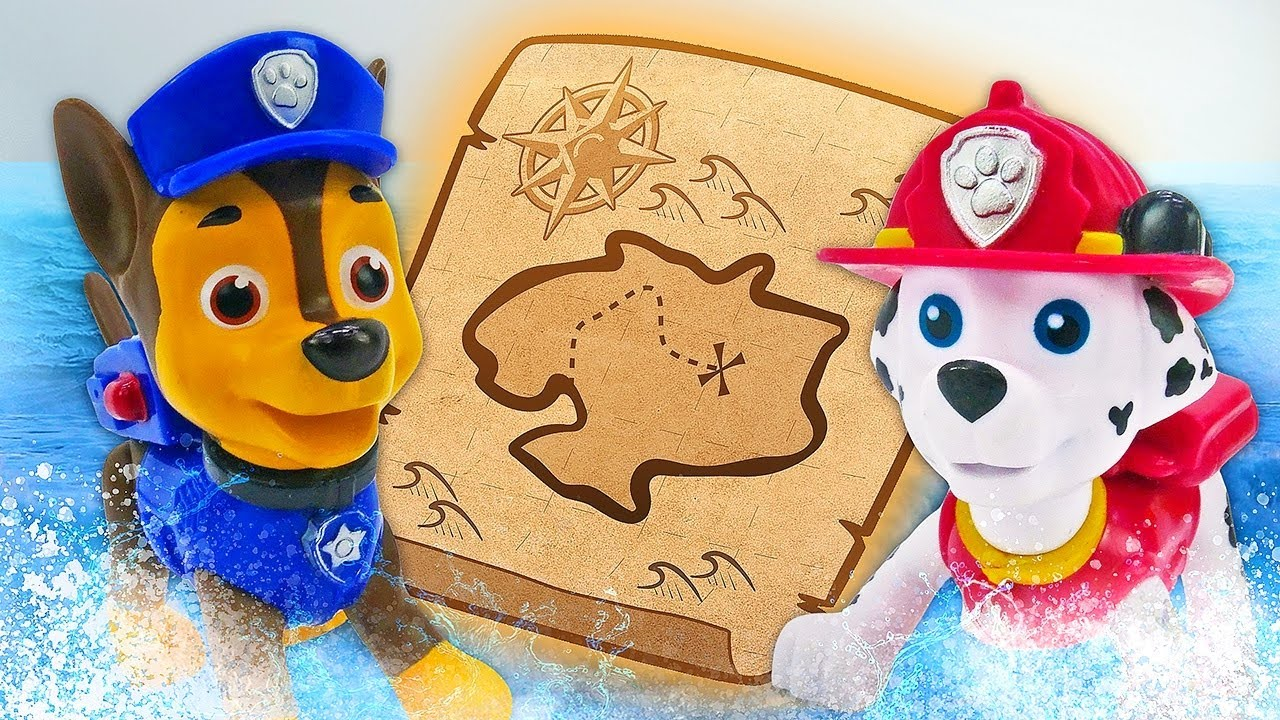 New Paw Patrol videos - Paw Patrol Mighty Pups ultimate rescue on the island.