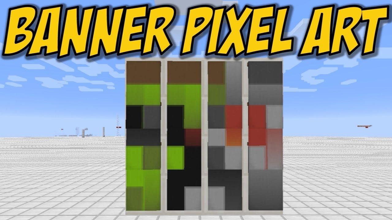 Minecraft Banner Pixel Art - Docm77 Avatar