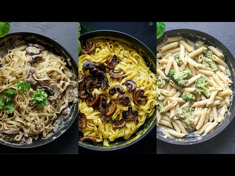 3-creamy-vegan-pasta-recipes-➼-ultimate-vegan-dinner-recipes-and-ideas