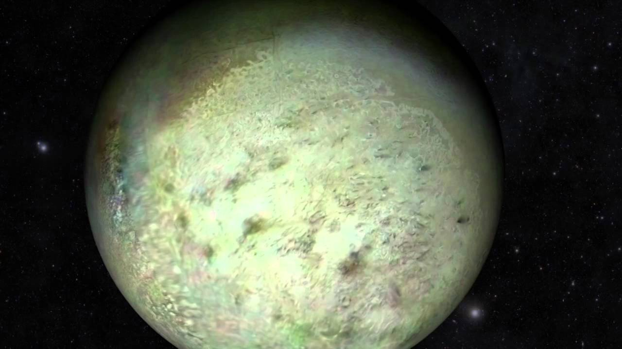 Sailing Past Neptune's Moon Triton