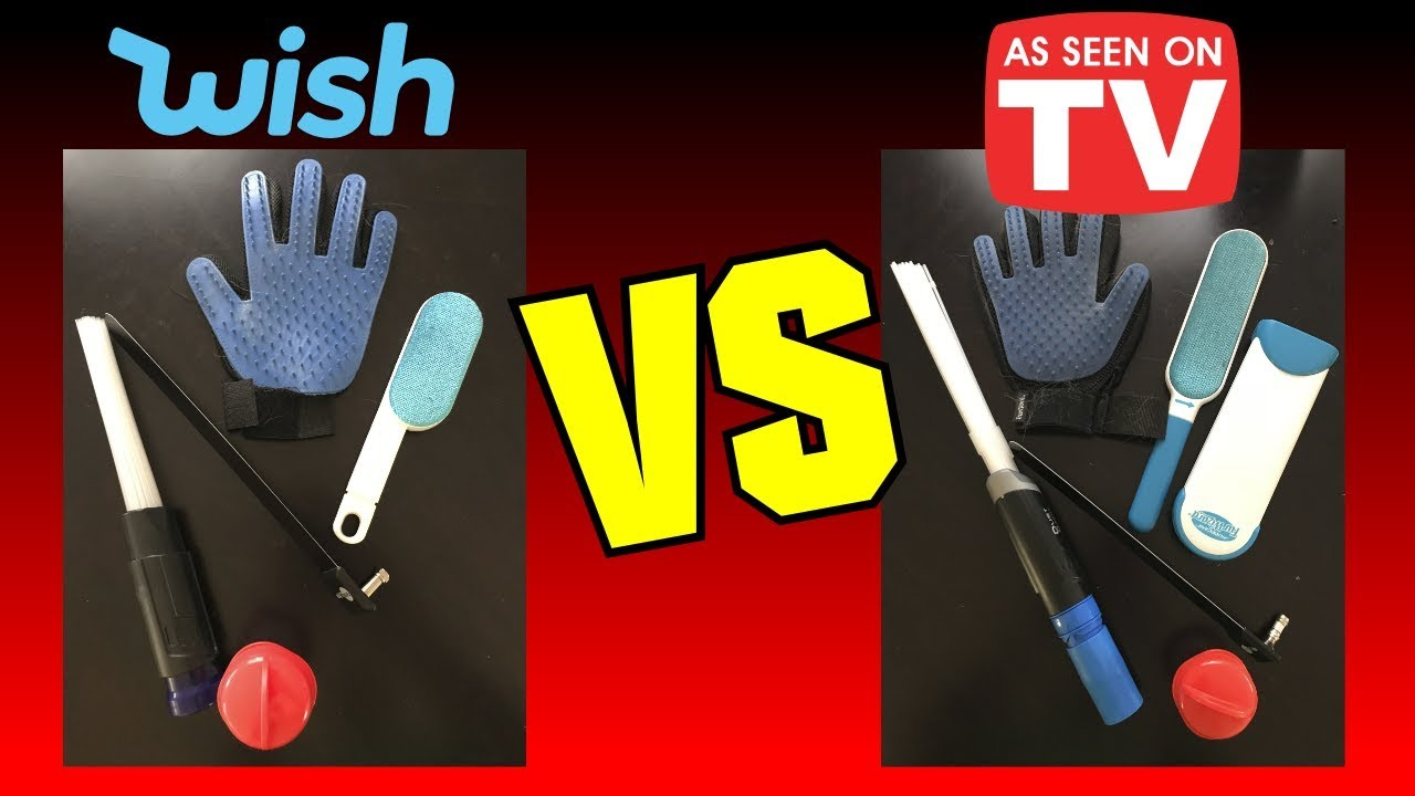 wish vs as seen on tv 5 items compared youtube