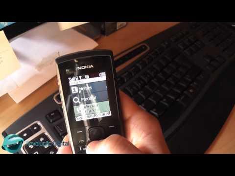 Teste RD - Nokia X1-01: Software