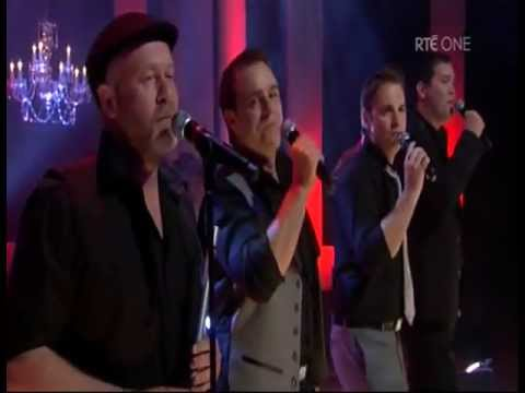 ewan cowley with the high kings quotmaries weddingquot rte