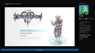 Live sur kingdomhearts 3 demo