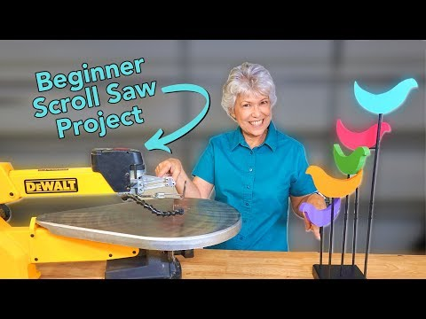 How to Make Vintage Birds on the Scroll Saw