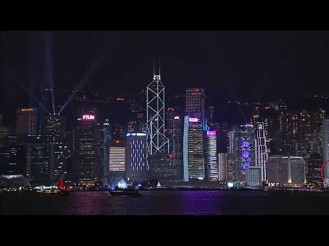 new version of A Symphony of Lights & Winter version of Hong Kong Pulse Light Show unveiled by HKTB