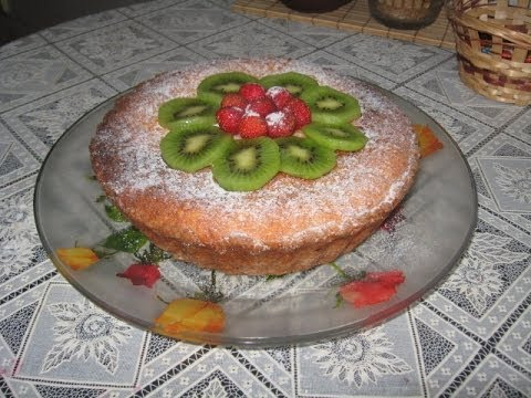 Творожный пирог с ежевикой