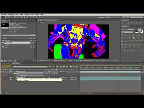 After Effects - Transitioning Between Render Passes For A Demo Reel