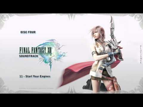 Final Fantasy 13 OST  Disc Four  11  Start Your Engines