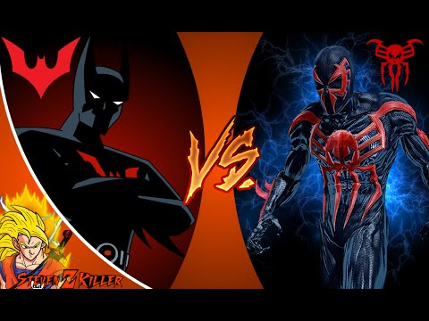 BATMAN BEYOND vs SPIDER MAN 2099! Cartoon Fight Club (Episode 32) Reaction!!!