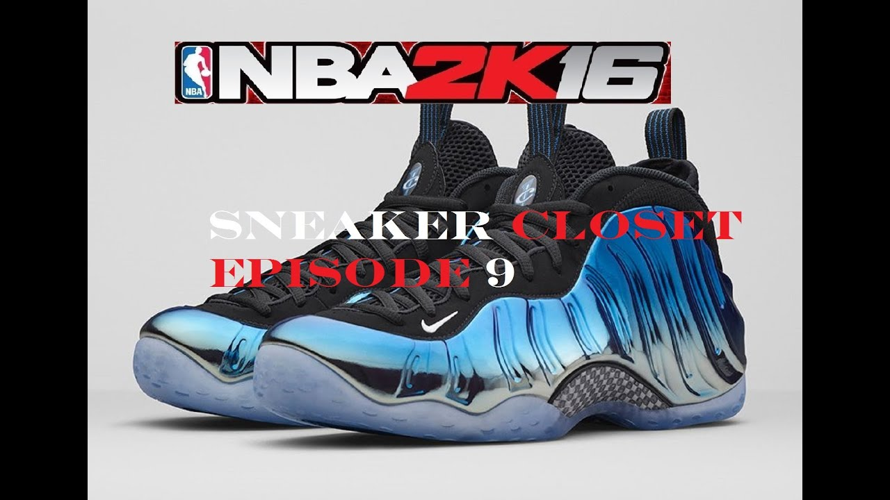 NBA 2K16 SHOE CLOSET EP 9