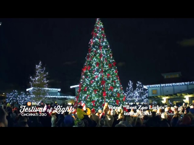 best holiday light displays near dayton ohio