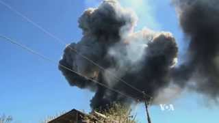 Ukrainian Military Helicopter Downed - Ukraine News Video