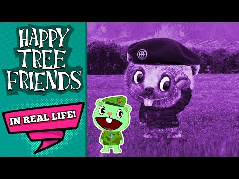 Untooned htf 7 5 flippy in real life color youtube Real life friends apartment