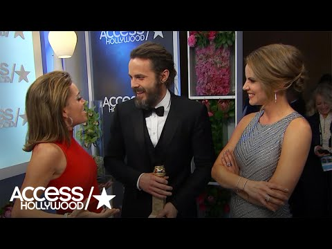 Thumbnail: Golden Globes: Backstage With Winners Casey Affleck & Tracee Ellis Ross!