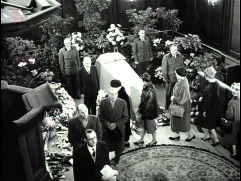 HKH Wilhelmina overleden   1962