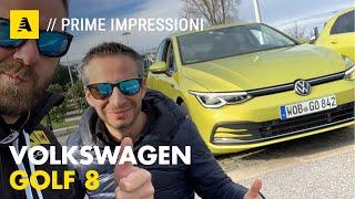 Volkswagen GOLF 8 | Prima prova su strada. Prezzo? Da 25.750 euro