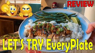 EveryPlate Meal Kit Family Cooking Review