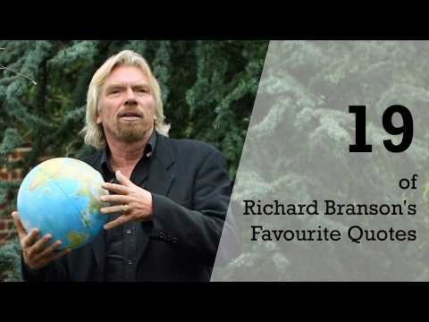 19 of Richard Branson's  Favourite Quotes | Sameer Gudhate