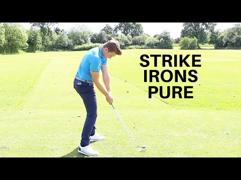 THE BEST GOLF TIPS TO STRIKE YOUR IRONS PURE