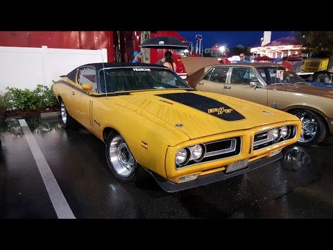 Classic Muscle Car Rally Show Florida Old Town Usa Youtube