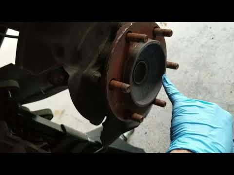 Wheel Bearing Assembly Replacement Toyota Tacoma DIY