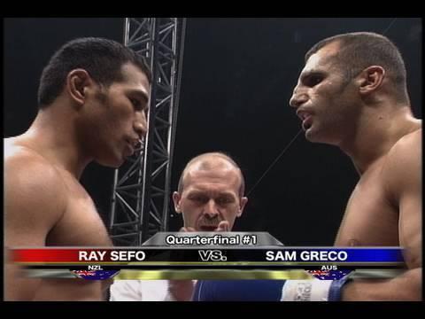 Ray Sefo vs. Sam Greco - K-1 GP '99 FINAL