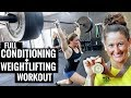 Weightlifting with TIA-CLAIR TOOMEY