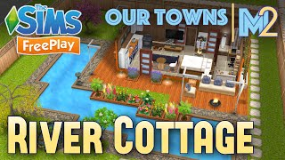 Sims FreePlay River Cottage Original House Design YouTube