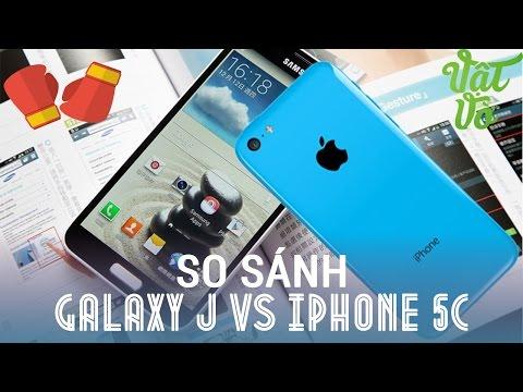 [Review dạo] So sánh chi tiết Samsung Galaxy J SC-02F và iPhone 5/5c