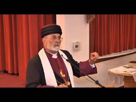 Mar Dinkha IV Patriarch Of The Assyrian Church Visits Detroit On Sep 9th 2013