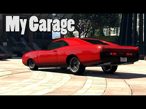 My Vehicles In GTA 5 Stanced, Lowered (2 Garages)