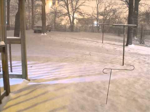 Huntsville, AL time laspe snow Jan 10
