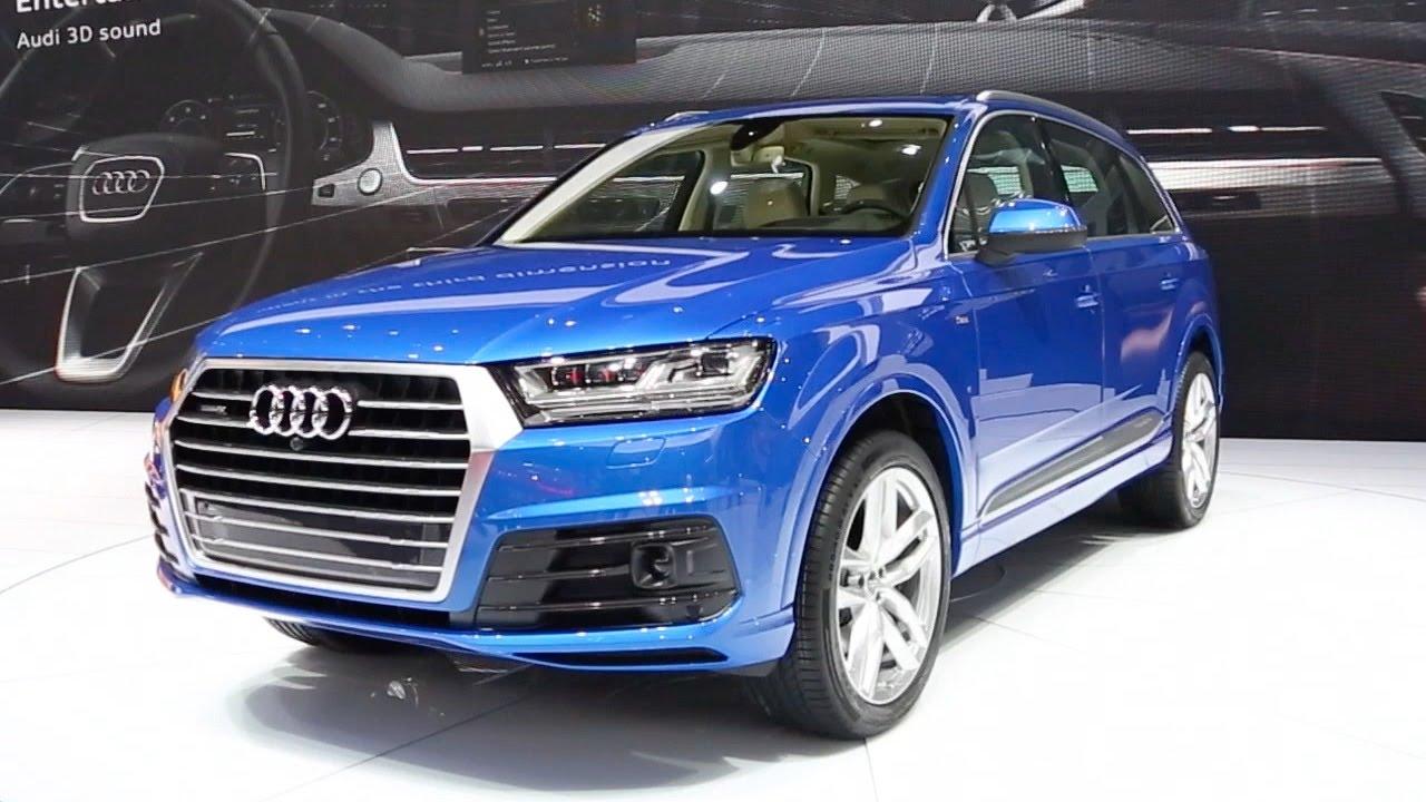 Audi 2016 audi q7 : 2016 Audi Q7 - 2015 Detroit Auto Show - YouTube