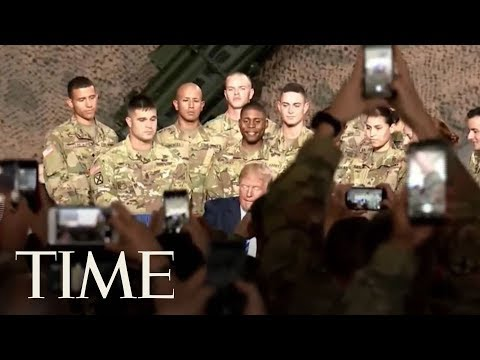 President Trump Does Not Mention John McCain As He Signs Defense Bill Named For Him | TIME