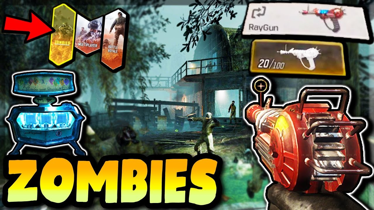 COD Mobile Zombies NEW MAPS (Shi No Numa + More) - RAY GUN + PACK-A-PUNCH in Call of Duty Mobile