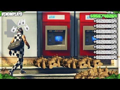 *ITS BACK* Super EASY GTA 5 ATM Money Glitch! (PS4/XBOX/PC) GTA 5 Solo Money Glitch 1.48