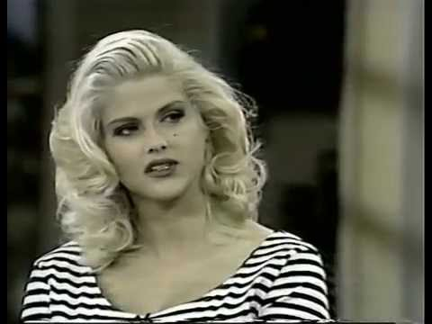 RARE Anna Nicole Smith  Regis Philbin 1992 GUESS JEANS