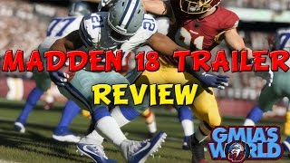 Madden 18 trailer breakdown: madden 18 frostbite engine, team play, & new gameplay mechanics