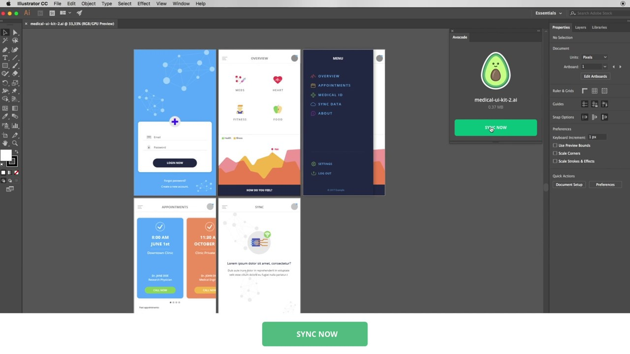 How to open Adobe Illustrator design files online? - Avocode — From