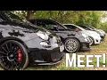 Hundreds of Modified 500 Abarth 595's, Puntos , 124 Spider meet at Auto Italia + Italian Supercars