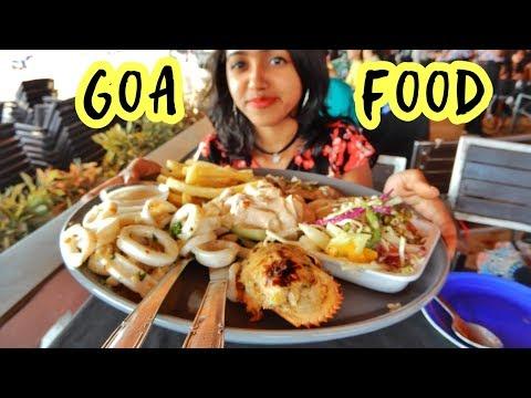 Goa Food Vlog | Exploring North Goa | Indian Food | Seafood | Anagha Mirgal