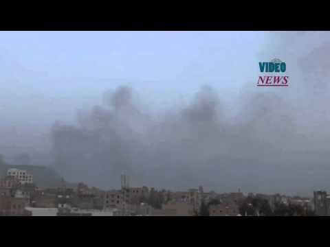 Saudi led coalition carries out airstrikes in Sanaa