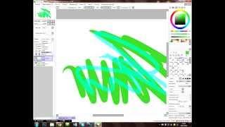 Видеоурок #1 Paint Tool SAI