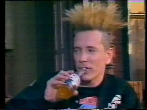 John Lydon - Rotten Interview - The Word (1991) from Universal Studios