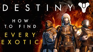 One of My name is Byf's most viewed videos: Destiny - How to find all the Exotic Weapons