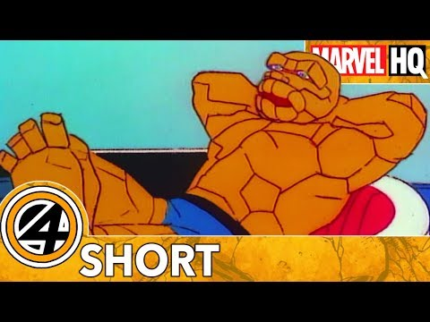 The Thing & Pizza: A Love Story | Marvel Mash-Ups: Fantastic Four | Skrull